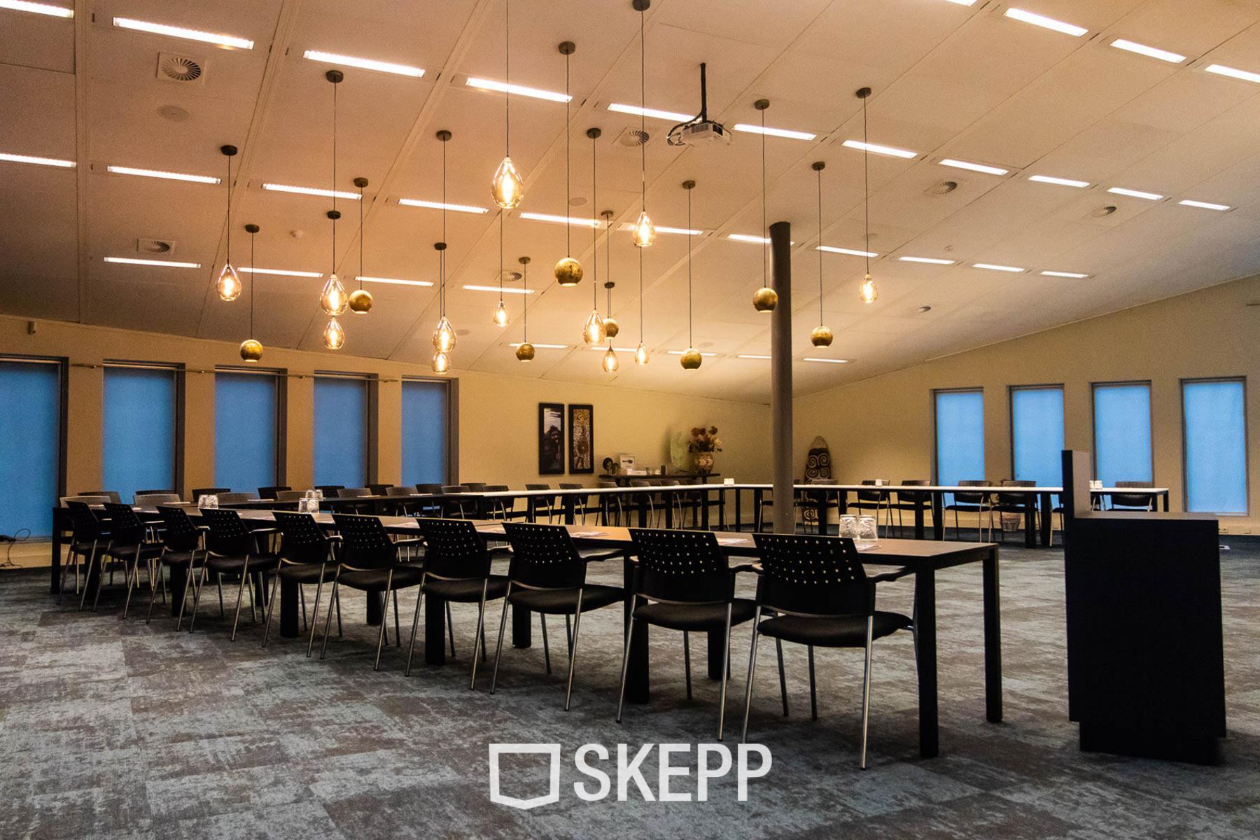 Office building meeting room