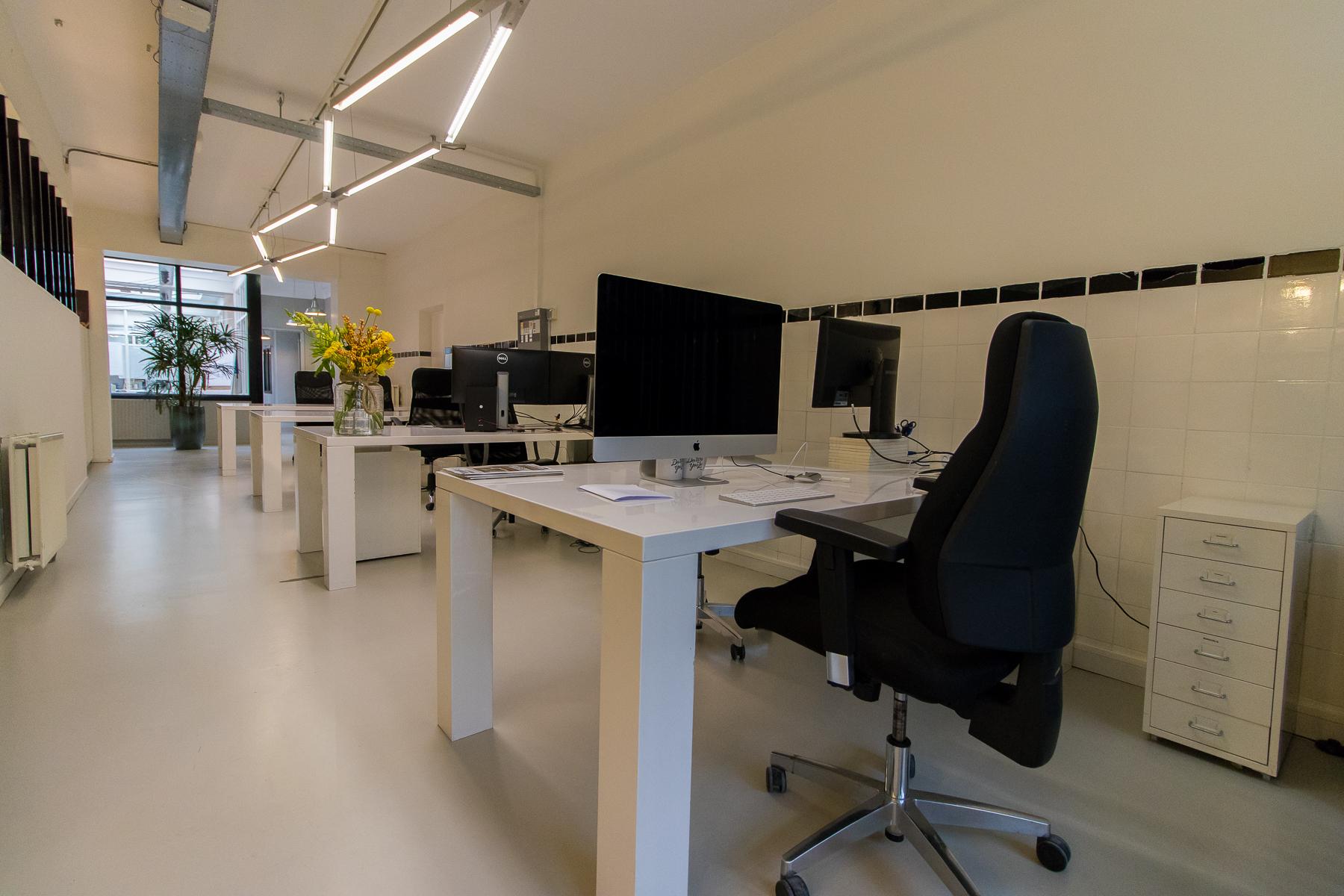 Flexplekken 2 desktop laptop kantoorruimte