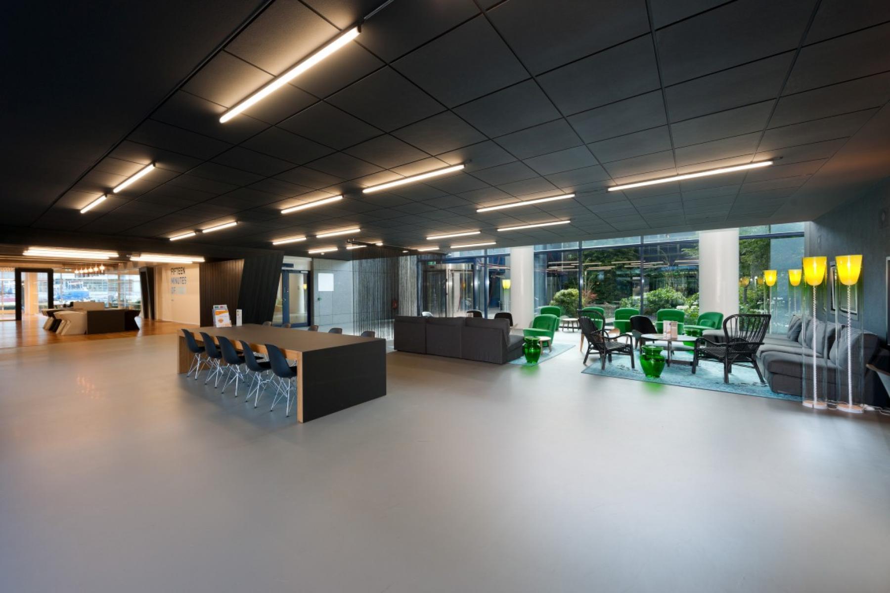 gemeenschappelijke ruimte kantoorpand amsterdam sloterdijk loungeruimte lunchruimte