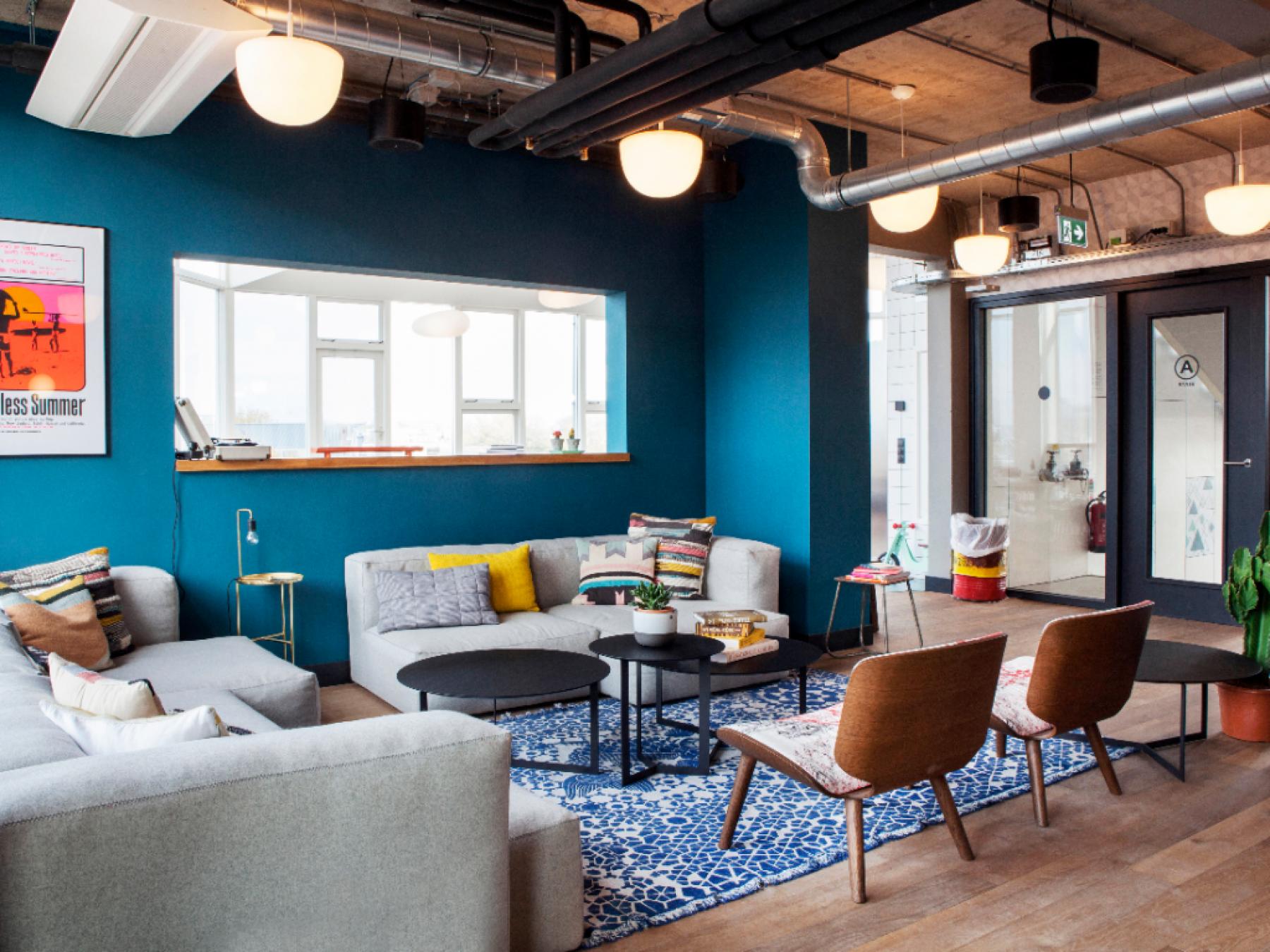 kantoorpand centrum amsterdam weesperstraat loungeruimte kantoorruimte