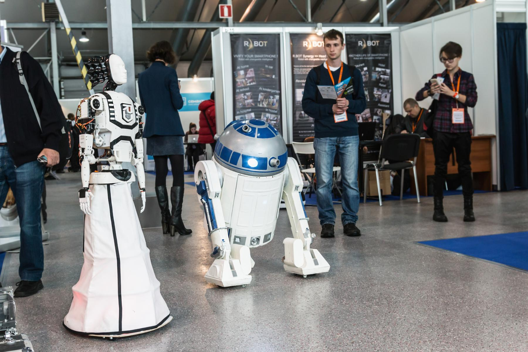 robots toekomst robotisering augmented age