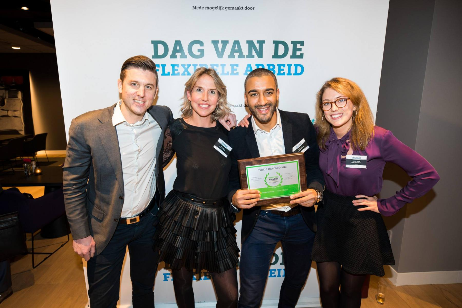 vijfde plek staffingawards panda international community