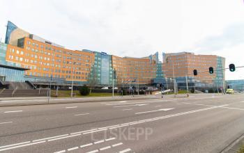 Buitenzijde kantoorpand Amstelveen