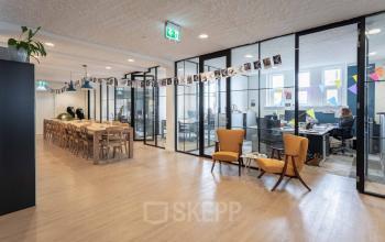 Moderne kantoorruimte historisch pand Amsterdam centrum