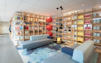 Creatieve kantoorruimte Amsterdam netjes groot centraal