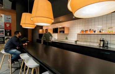 Pantry and common area Amsterdam