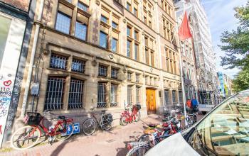 Buitenzijde kantoorpand Amsterdam