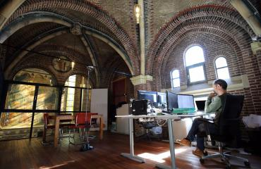 working place for rent in Amsterdam Oude Kerk