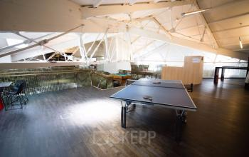 pingpong table in shared office space amsterdam