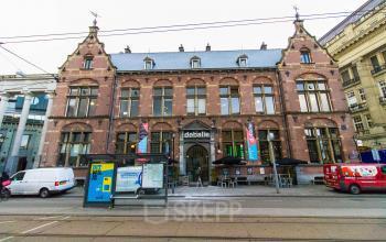 Buitenzijde kantoorpand Leidseplein Amsterdam
