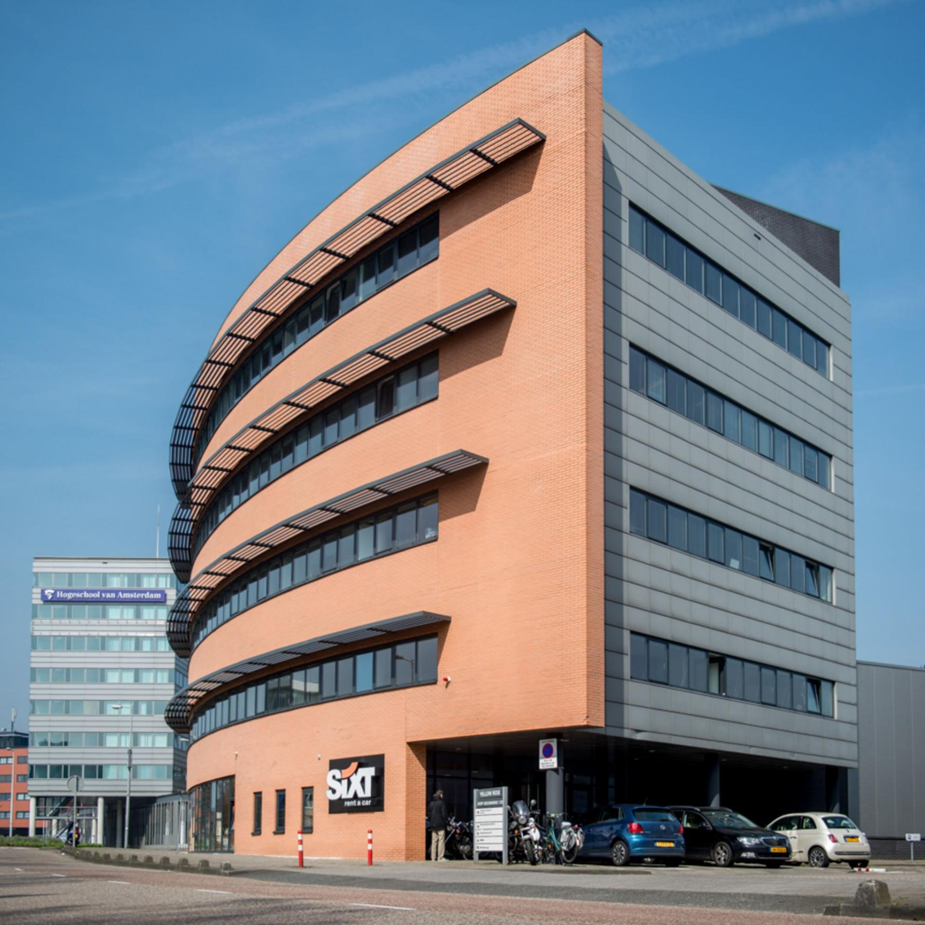 kantoorpand bij hogeschool van Amsterdam kantoorruimte te huur