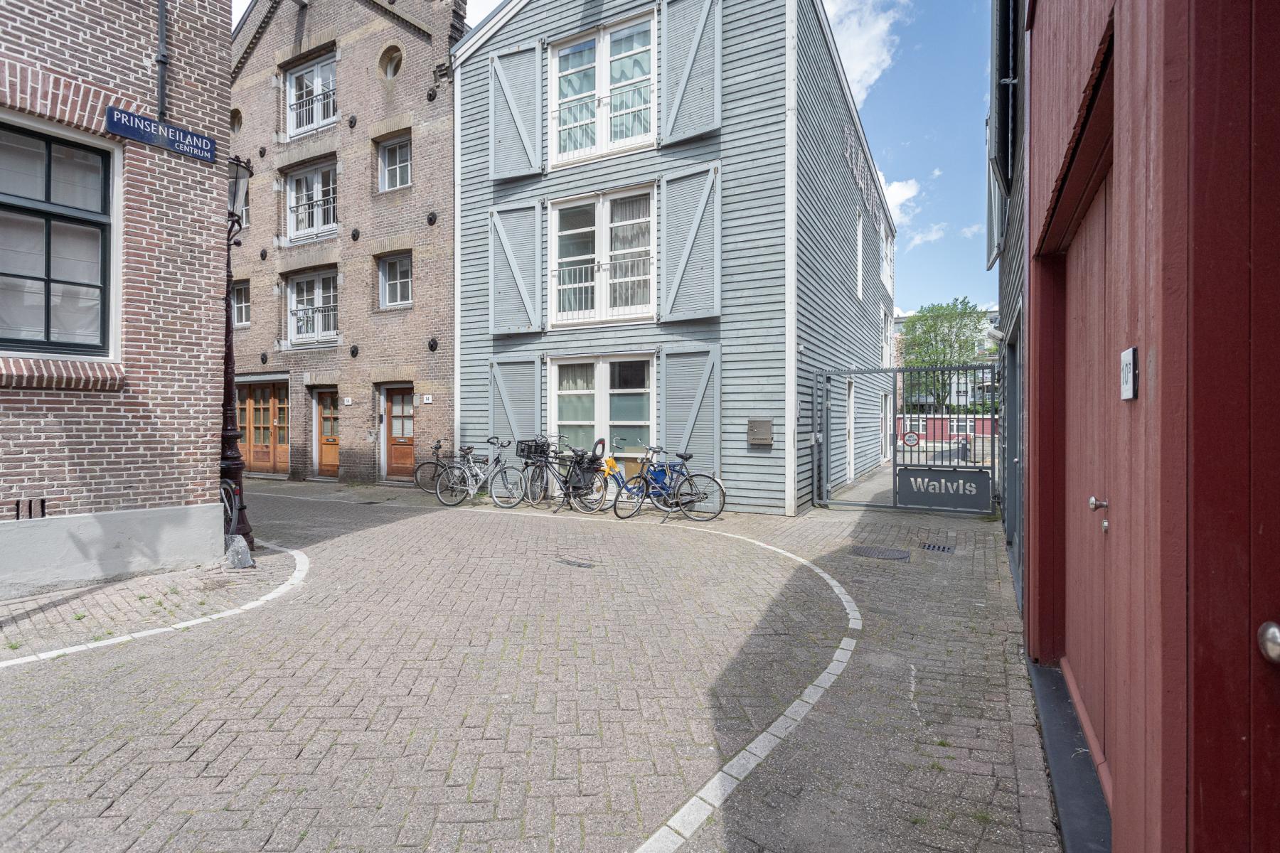 Prinseneiland Amsterdam parkeerplaatsen grachtengordel huiselijk pand