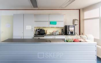 Luxe pantry in het kantoorgebouw