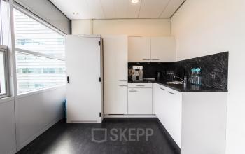 Multiple modern pantry's for tenants