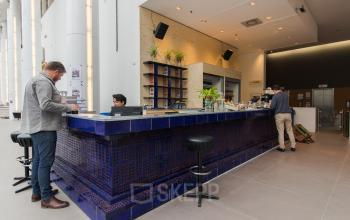 Manned reception during office hours