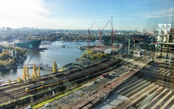 Uitzicht op Amsterdam