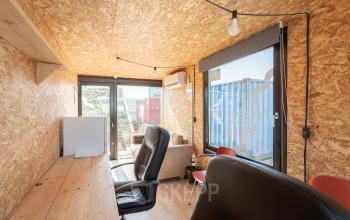 Containteroffice containerwoning Amsterdam Science Park creatief start-up
