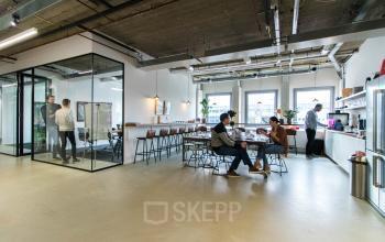 Transparante werk omgeving