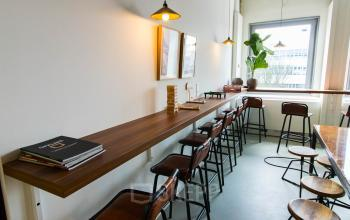 Gezamelijke lunchruimte beschikbaar