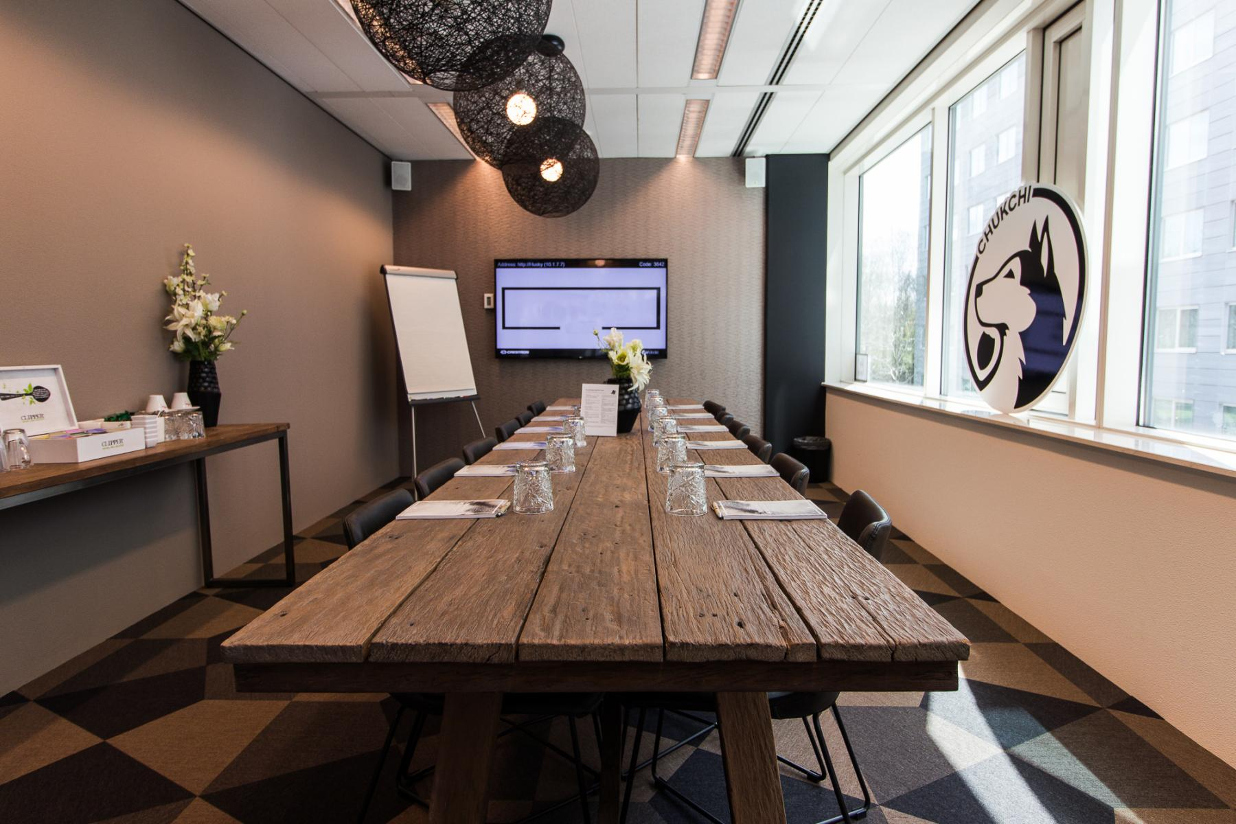 Modern conference rooms available
