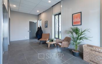 Centrale ingang kantoorpand Amsterdam Slego sloterdijk