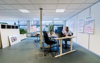Flexdesks for rent at the Kabelweg in Amsterdam