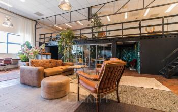 Hip and modern office spaces for rent in recently renovated office building