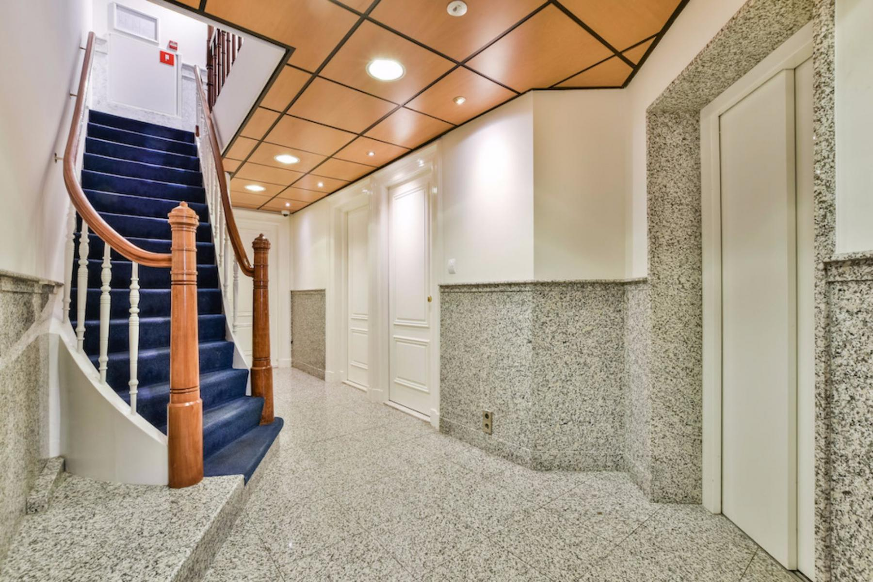 hallway doorway office building Amsterdam