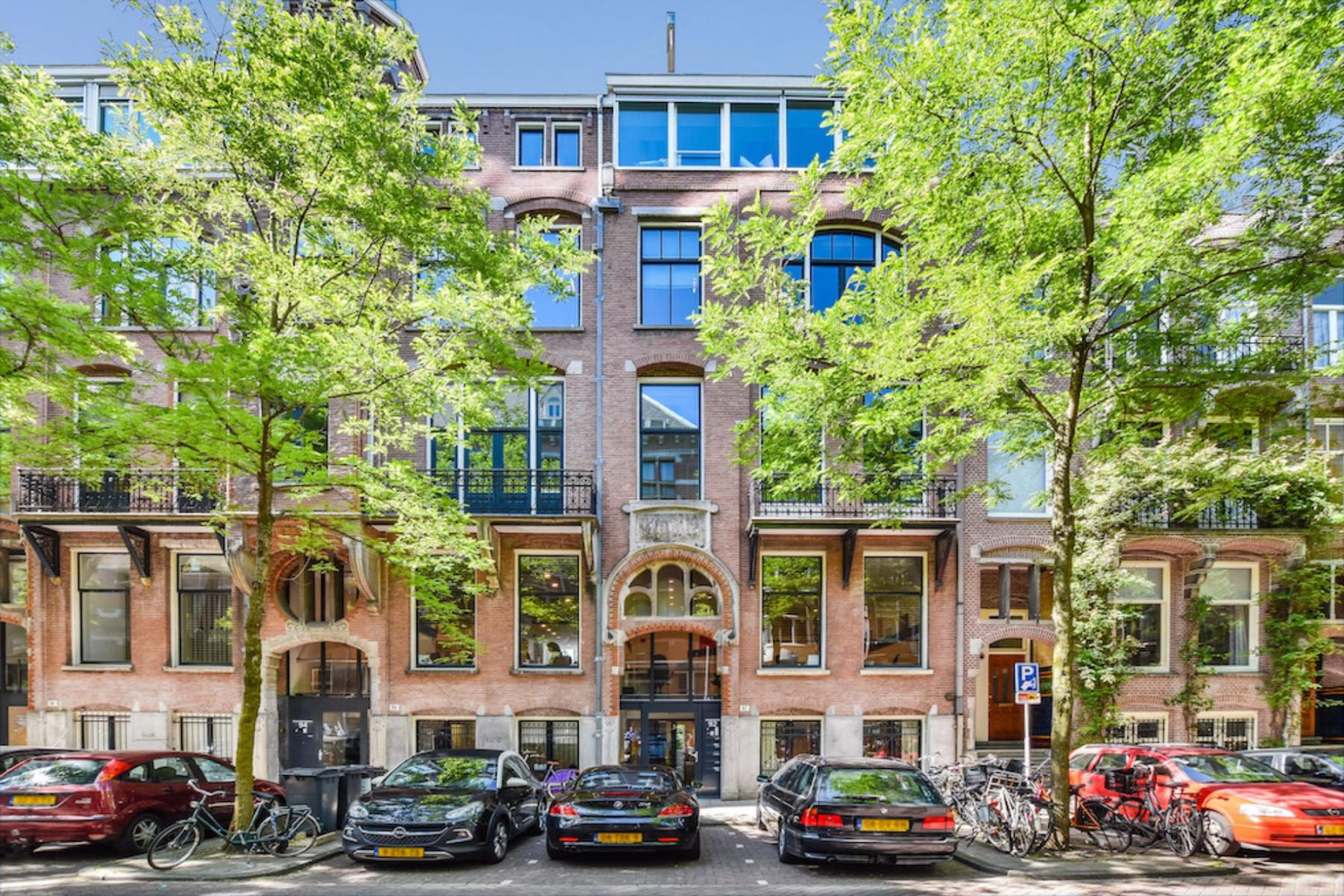 Front side office building Amsterdam South