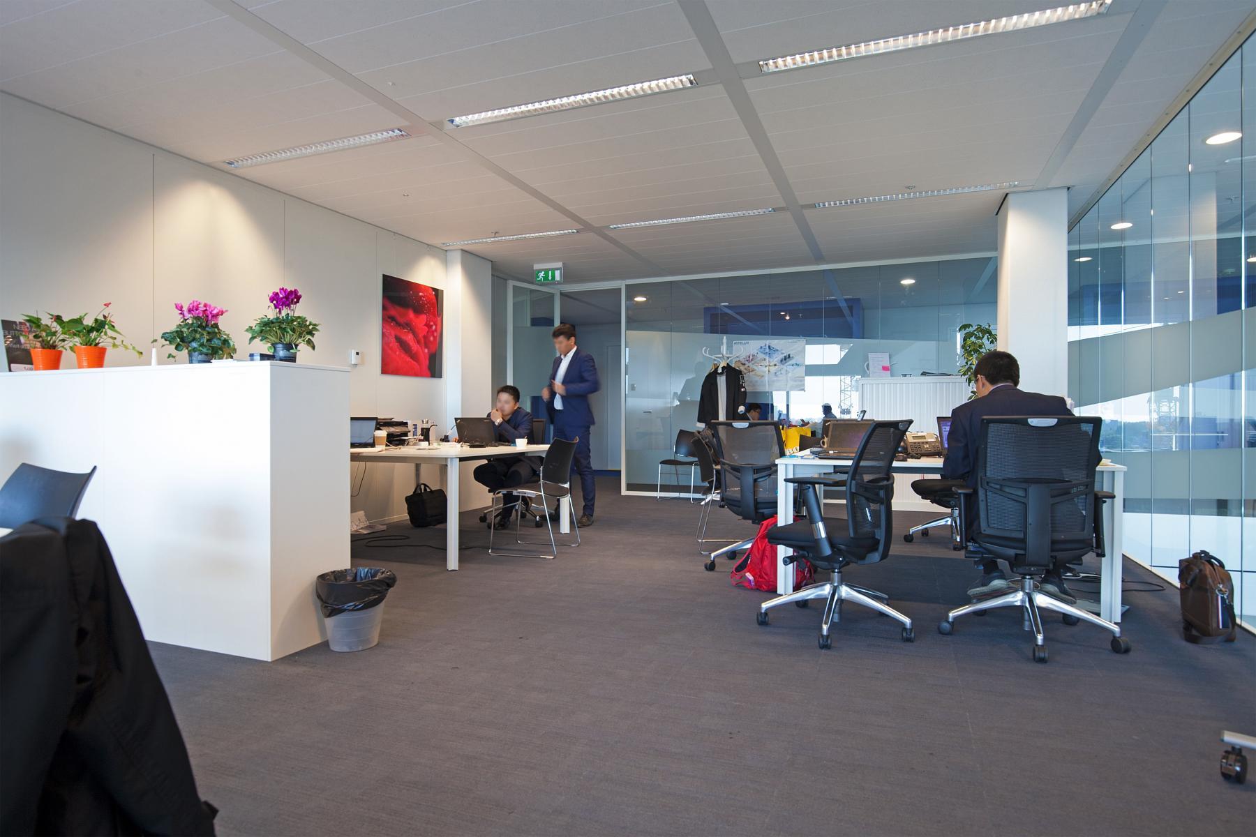 overzicht kantoorruimte parnassusweg amsterdam huren
