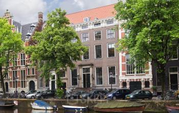 buitenzijde grachtenpand kantoor amsterdam keizersgracht