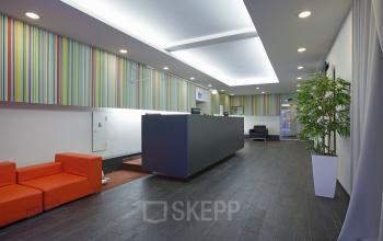 loungeruimte kantoorgebouw Amsterdam Singel meubilair interieur