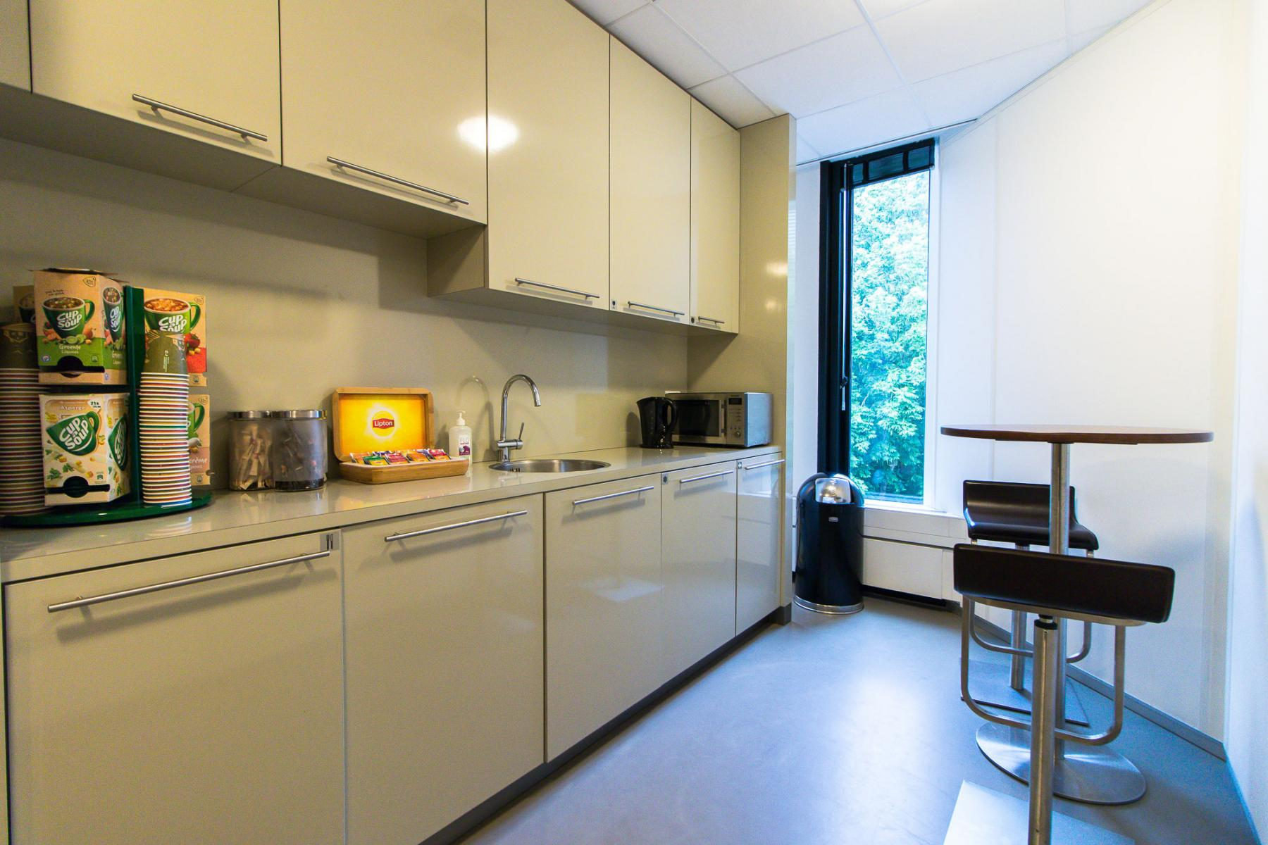 Joint pantry for tenants at the Cuserstraat