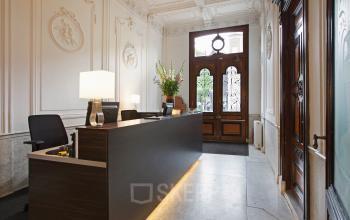 receptie kantoor amsterdam herengracht entree ingang representatief