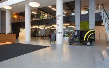 amsterdam kabelweg sloterdijk kantoorpand begane grond entree ingang