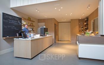 koffiecorner lunch kantoorgebouw amsterdam herengracht