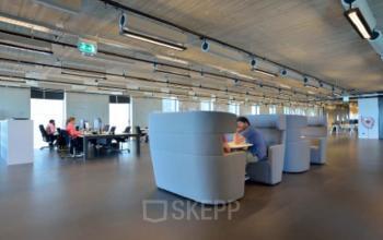 sociaal hart in kantoorpand Amsterdam Archangelkade