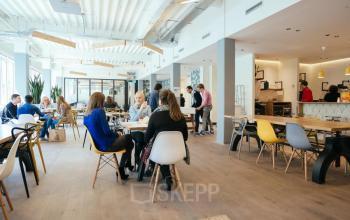 loungeruimte flexwerkplek Amsterdam te huur
