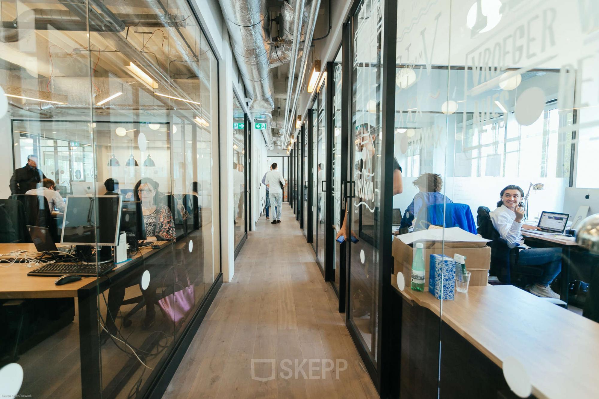 Kantoor Huren Amsterdam : Kantoorruimte huren aan weteringschans in amsterdam skepp