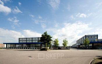 omgeving van kantoorgebouw in Amsterdam aan de Distelweg