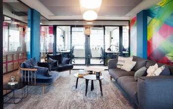 units huren in centrum amsterdam met lounge