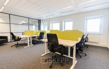 Flexdesks at the Joop Geesinkweg in Amsterdam