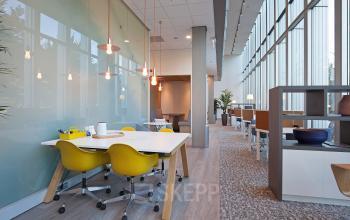 werkplek flexwerkplek sociaalhart kantoorgebouw Amsterdam