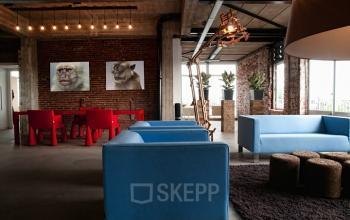 sociaalhart loungeruimte kantoorpand Rokin SKEPP