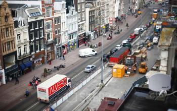 uitzicht Amsterdam kantoorpand kantoorgebouw Amsterdam Rokin