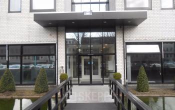 Entrance office building Naritaweg Amsterdam