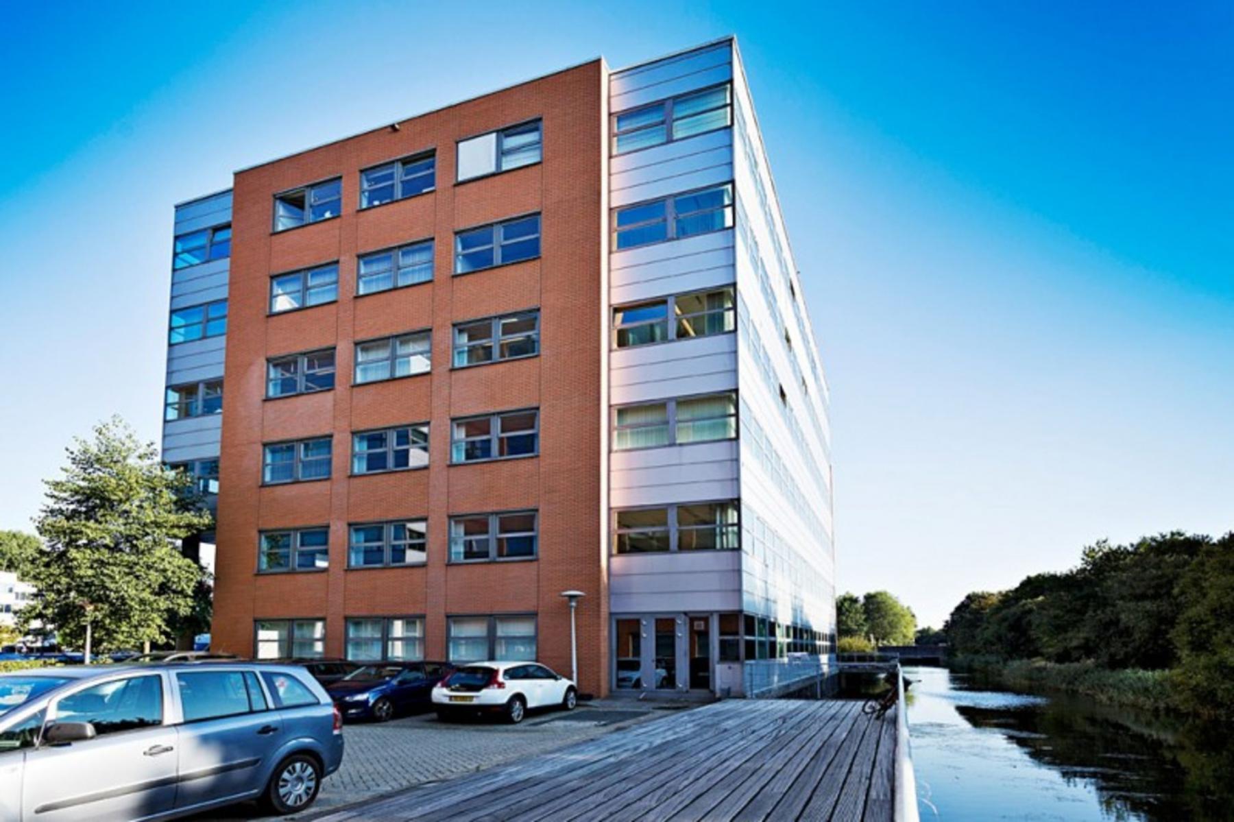 omgeving kantoor Amsterdam Entrada buitenzijde goedkoop ramen
