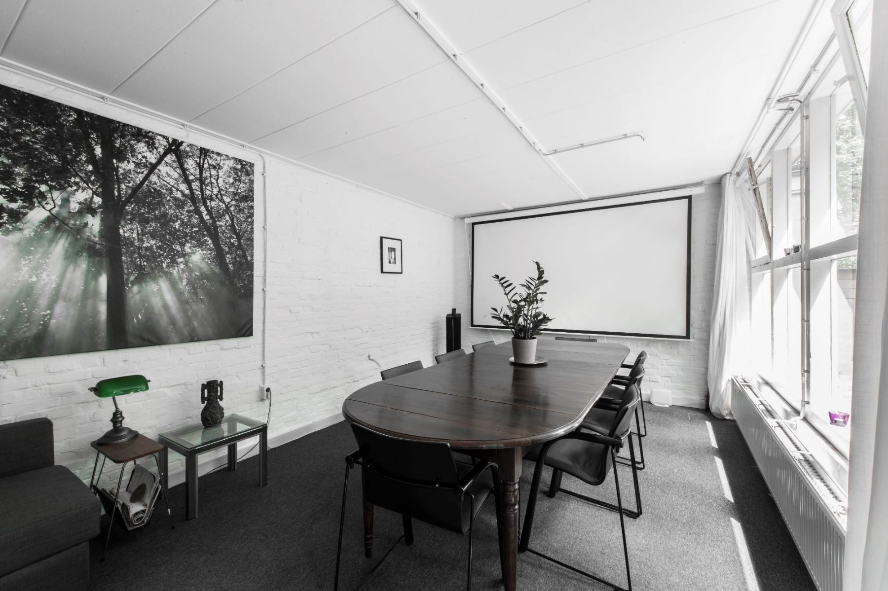 Kantoorgebouw Amsterdam Herengracht vergaderruimte overzicht