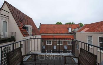 terras bankje Keizersgracht Amsterdam
