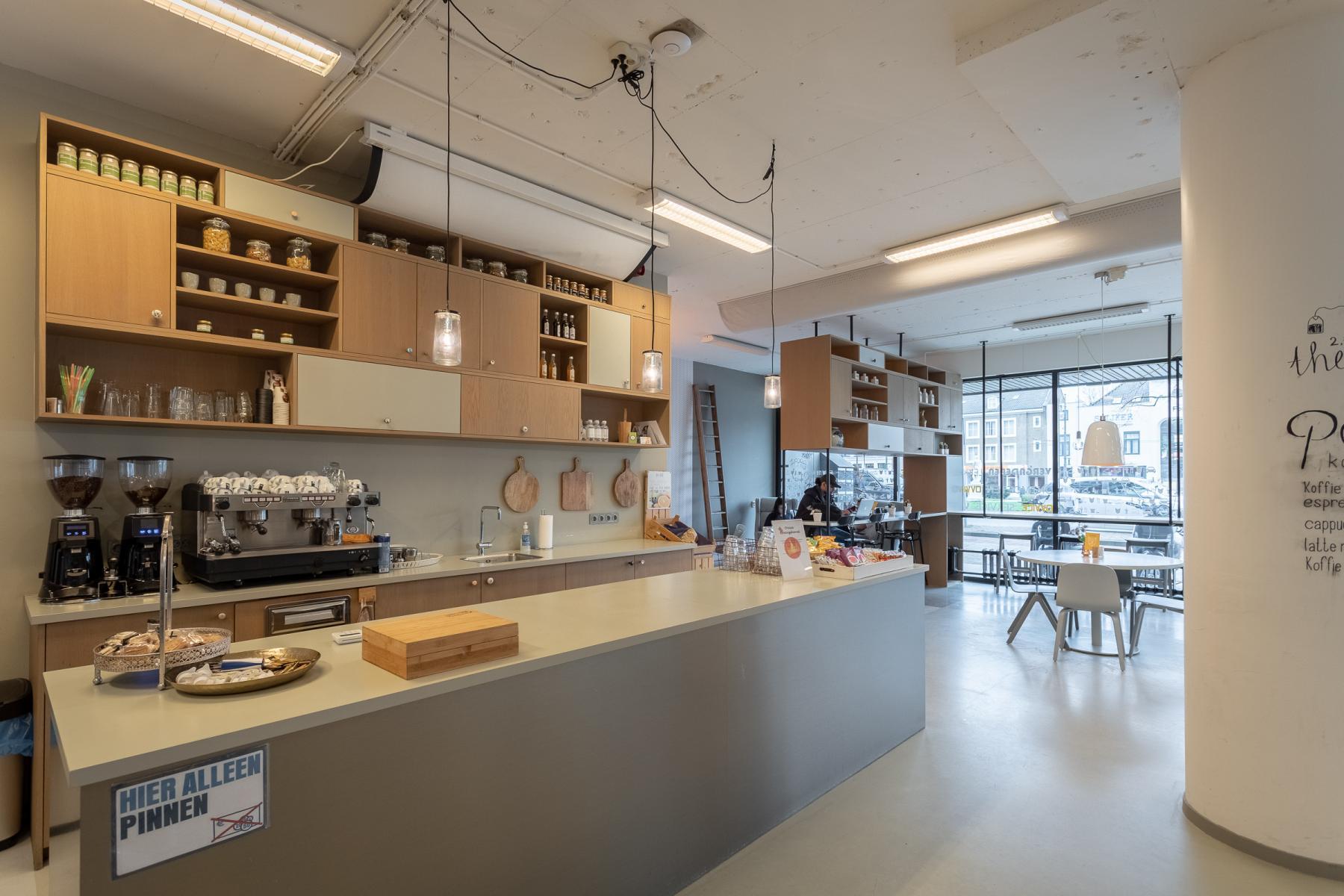 barretje lunchroom kantine eten keuken Arnhem kantoorruimte kantoorpand